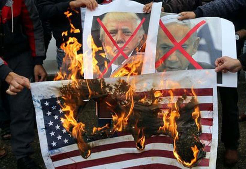 Protestan contra decisión de Trump de nombrar a Jerusalén capital israelí   El Imparcial de Oaxaca
