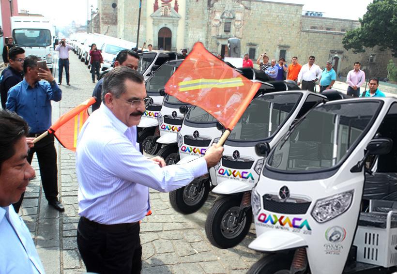 Circularán mototaxis en el centro de Oaxaca | El Imparcial de Oaxaca