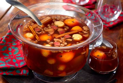 Receta para el ponche de frutas navideño | El Imparcial de Oaxaca