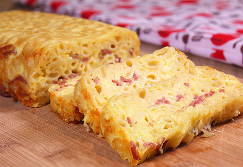 Pastel de coditos con queso manchego | El Imparcial de Oaxaca