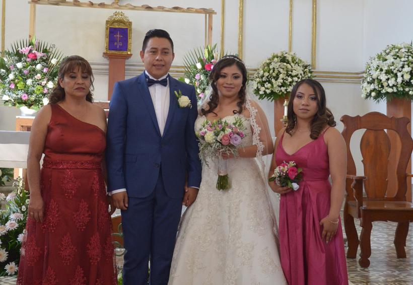 Orlando y  María Fernanda,  juntos por siempre