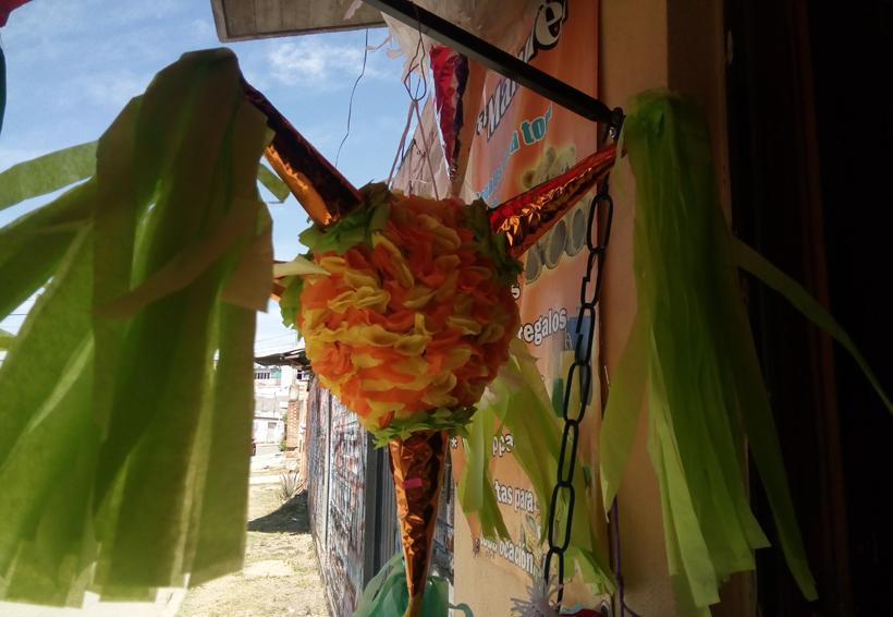 Piñatas, una tradición vigente en Oaxaca