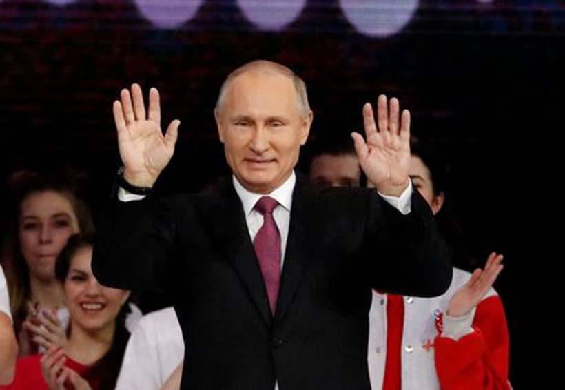 Putin planea reelección como presidente de Rusia en 2018 | El Imparcial de Oaxaca