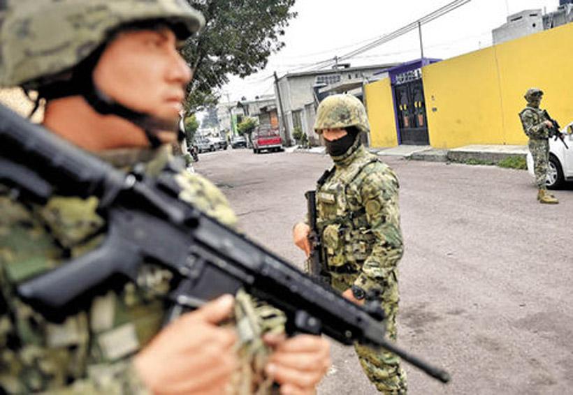 En 2017, despliegue militar anticrimen costó 32 mil mdp | El Imparcial de Oaxaca