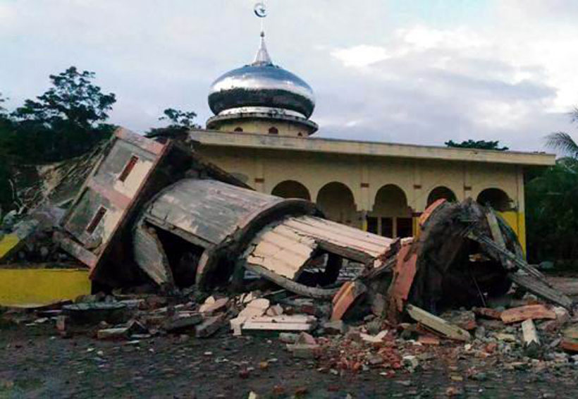 Sismo de magnitud 6.5 en Indonesia deja un muerto | El Imparcial de Oaxaca