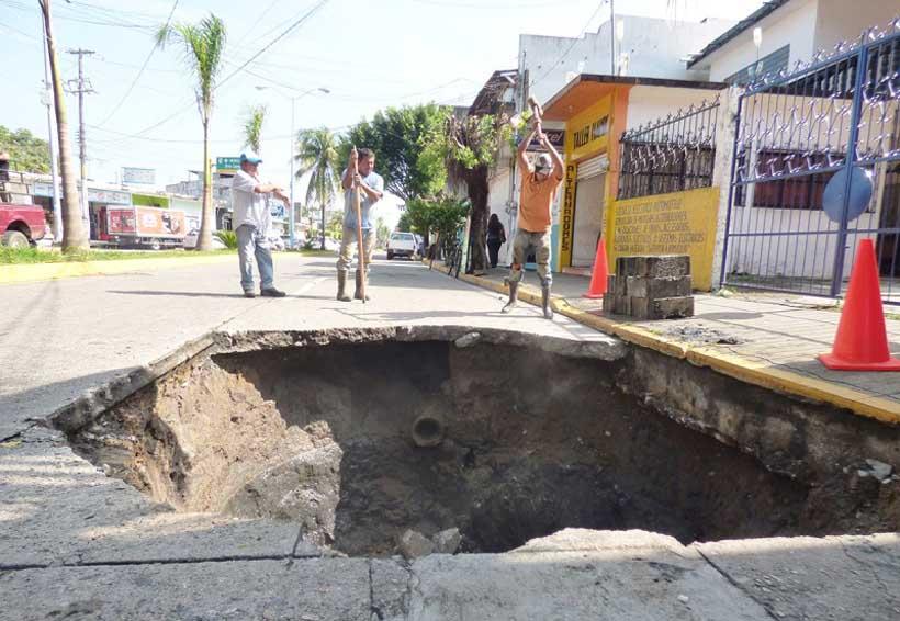 Seguirá el problema de socavones en Tuxtepec, Oaxaca | El Imparcial de Oaxaca