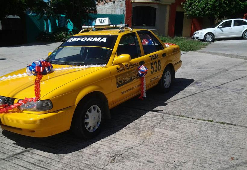 Denuncian alzas injustificadas en taxis del centro y foráneos en Oaxaca | El Imparcial de Oaxaca