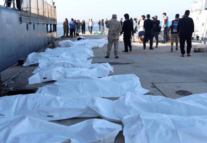 Al menos 25 muertos en un naufragio de migrantes ante costas libias | El Imparcial de Oaxaca