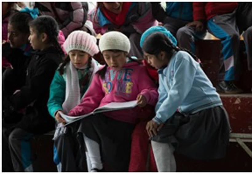 Donan libros a biblioteca de la Cañada