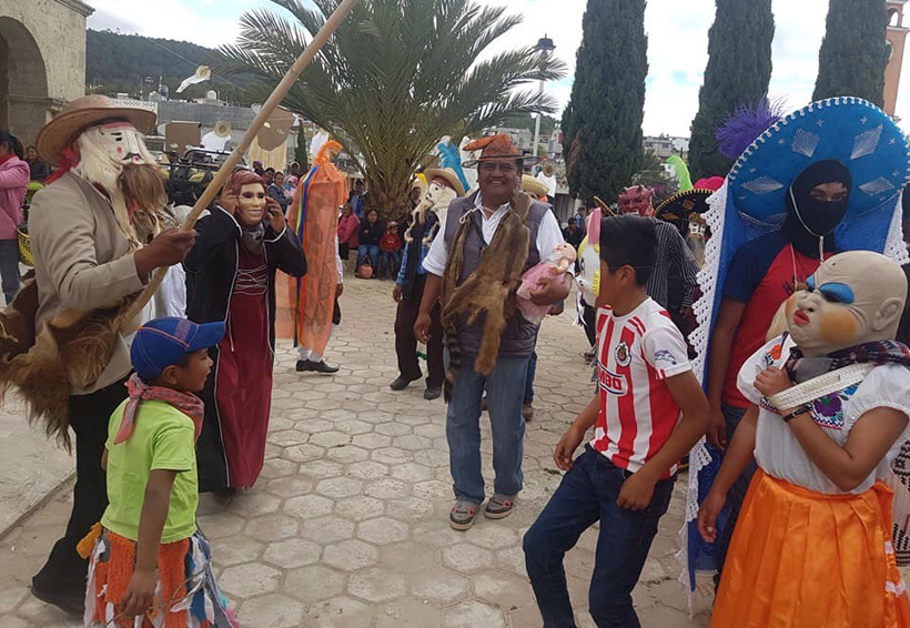 El carnaval, un orgullo en San Miguel el Grande, Oaxaca