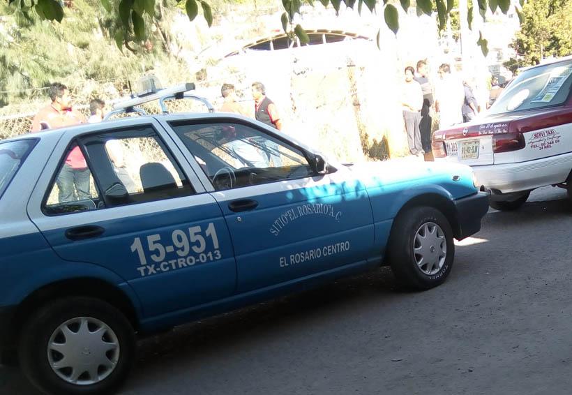 Taxistas siembran pánico en El Rosario, Oaxaca