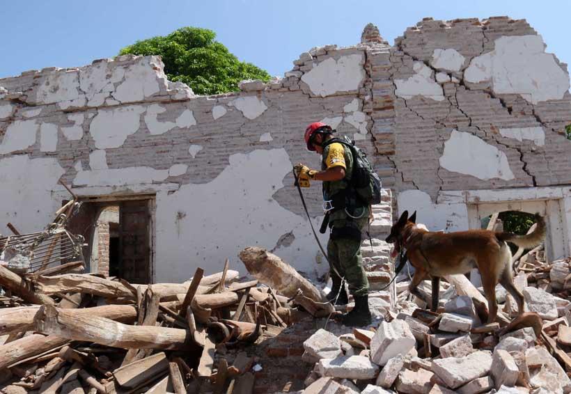 2017 récord de sismos en México