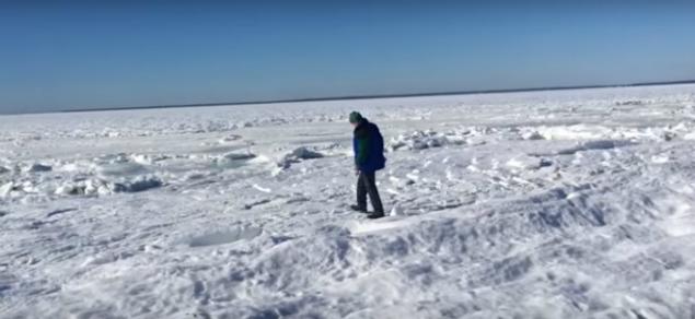 Video: 'Ciclón bomba' congeló el mar en Massachusetts en EU | El Imparcial de Oaxaca