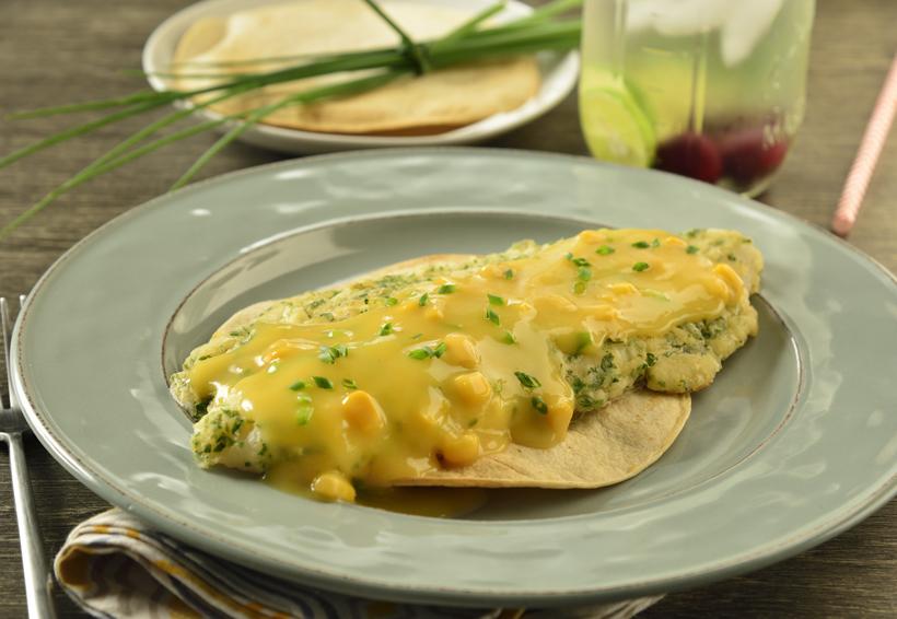Filete de pescado en salsa de elote y cebollín | El Imparcial de Oaxaca