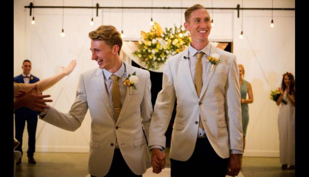 Primer matrimonio gay en Australia es protagonizado por atletas   El Imparcial de Oaxaca