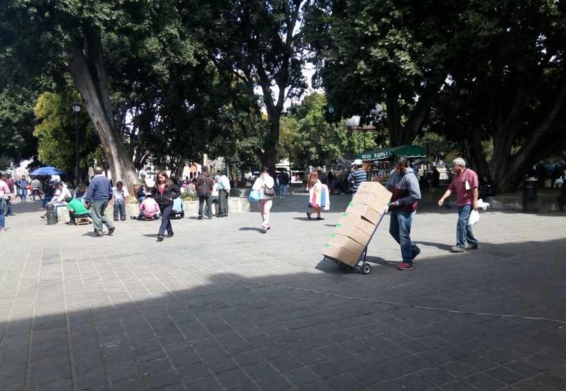 Advierten inseguridad  en el zócalo de Oaxaca   El Imparcial de Oaxaca