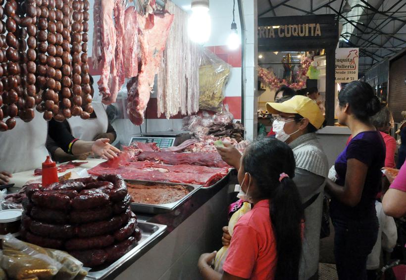 Al alza el precios de pollo, carne de cerdo y de res en Oaxaca