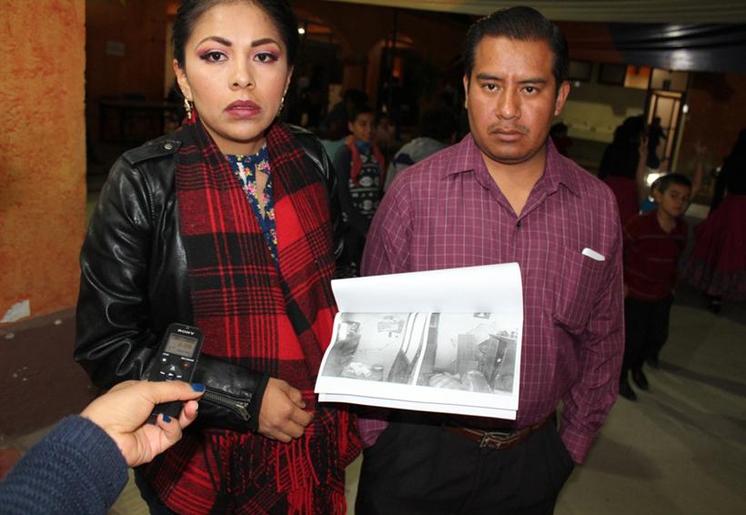 Damnificados asegura que fue ignorada  por gobierno de Huajuapan de León, Oaxaca