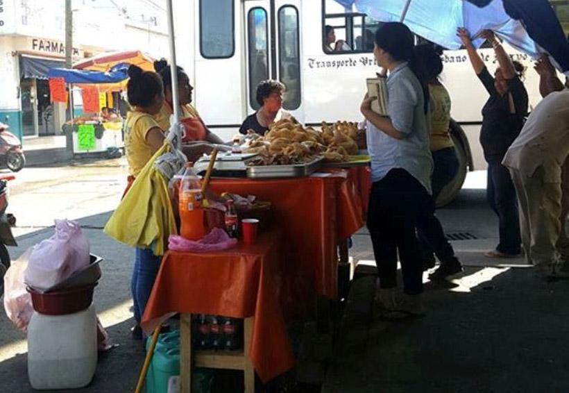 Retiran puesto ambulante de Tuxtepec que no contaba con permiso | El Imparcial de Oaxaca