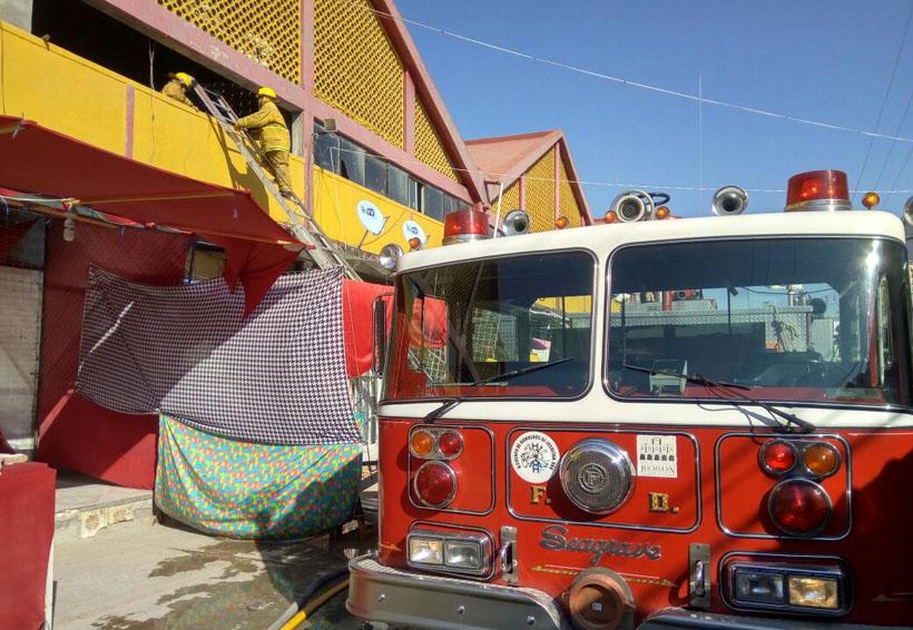 Conato de incendio en  mercado de Juchitán, Oaxaca