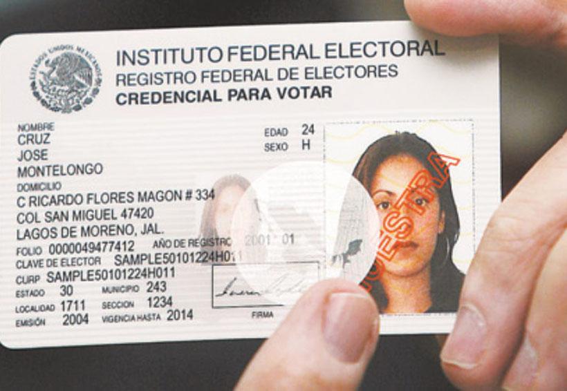 Este miércoles, último día para tramitar, actualizar o corregir la credencial para votar | El Imparcial de Oaxaca