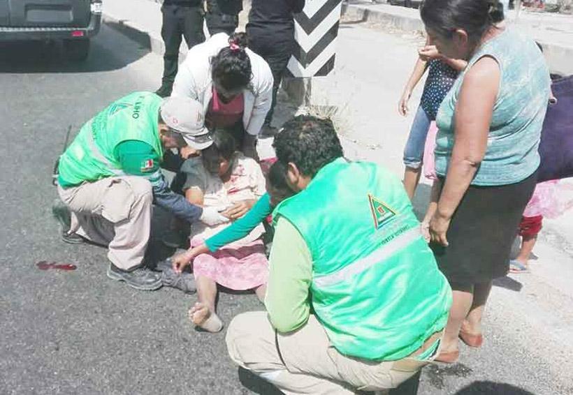 Taxi fugitivo atropella a mujer | El Imparcial de Oaxaca
