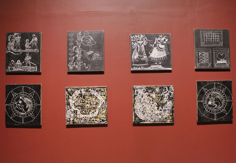 """De los códices a los """"mapas"""" de Sergio Hernández"""