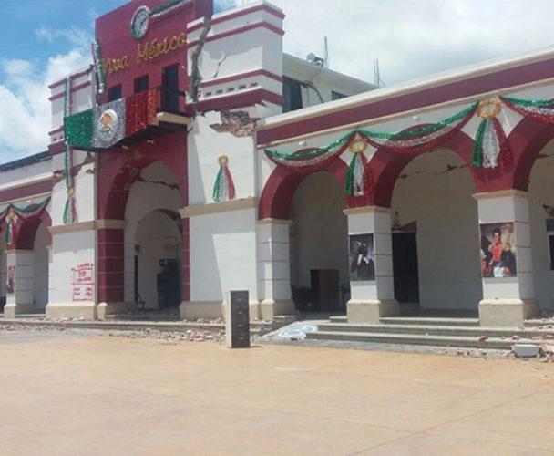 Demolerán palacio de Ixtaltepec, Oaxaca