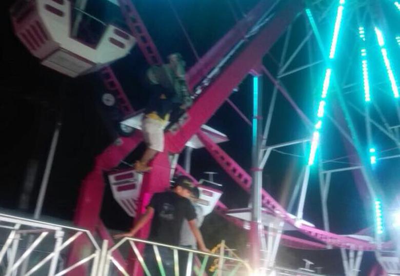 Desmienten mal  funcionamiento en juegos mecánicos de Tuxtepec, Oaxaca | El Imparcial de Oaxaca
