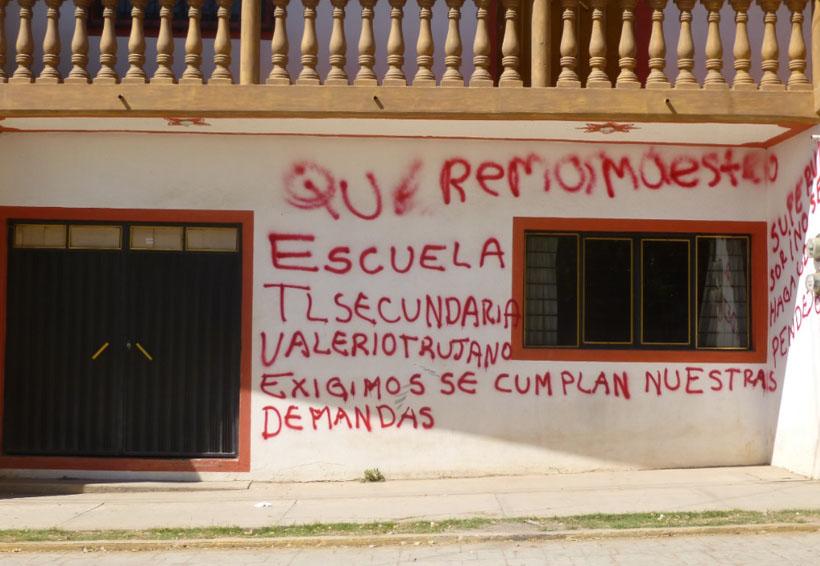 En Cuicatlán cierran  oficinas de sector  013 Telesecundarias | El Imparcial de Oaxaca