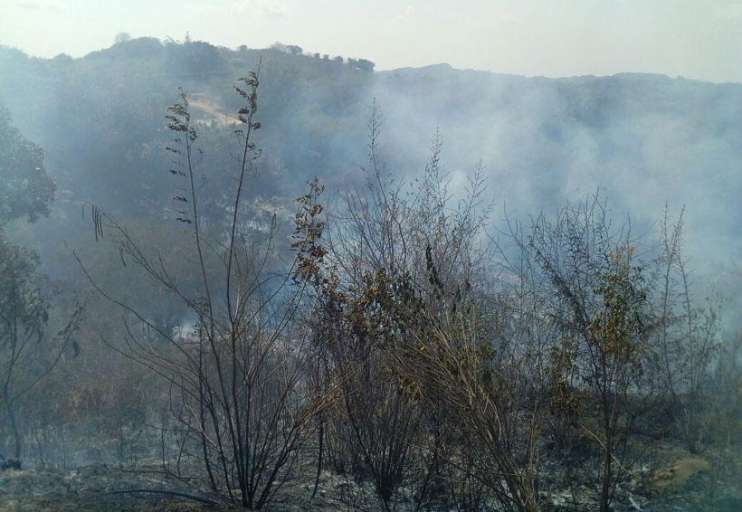 En Pochutla han atendido  tres incendios forestales