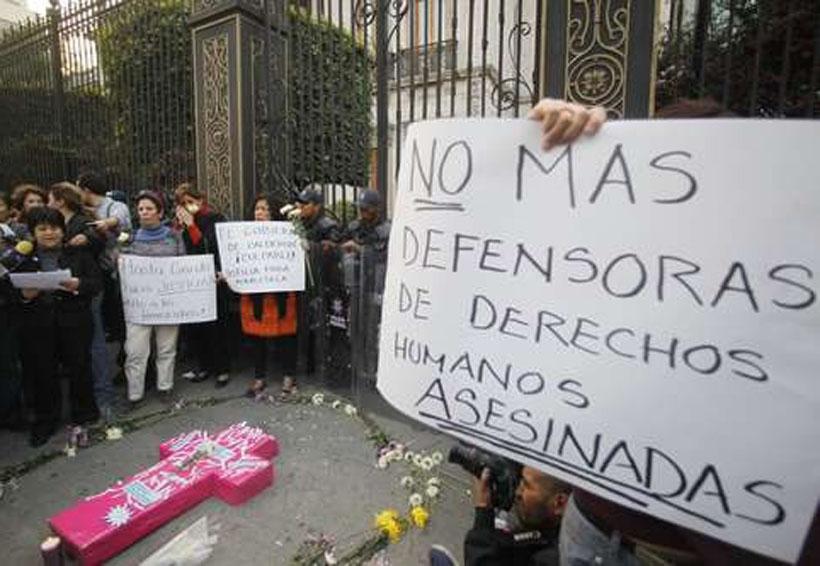 Se documentaron 34 ejecuciones  extrajudiciales de activistas en 2017 | El Imparcial de Oaxaca