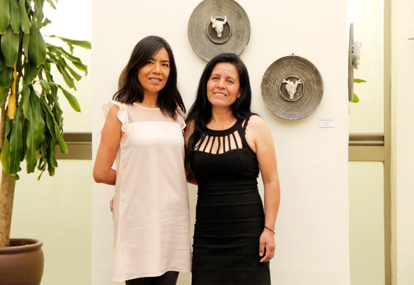 Exposición de Inés Lara y Toñita Silva