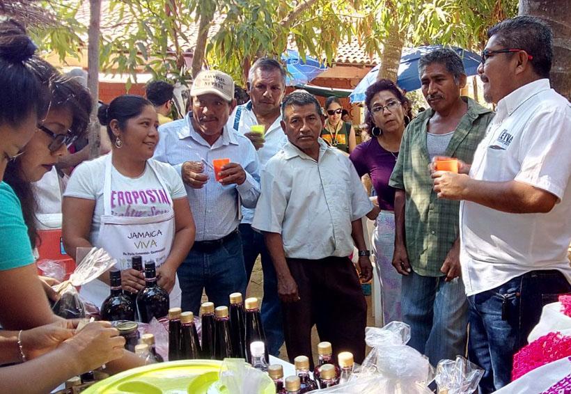 Festival de la Jamaica, detona economía a los productores de la Costa de Oaxaca