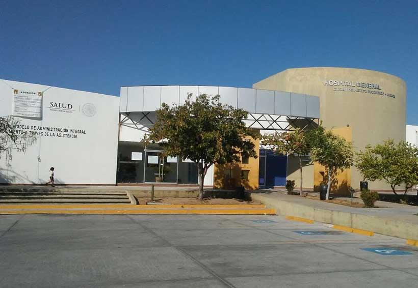 Hospital de Puerto Escondido, en abandono