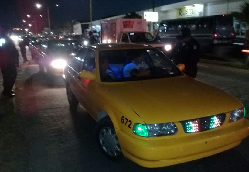 Implementan operativos para  detectar taxis irregulares en Salina Cruz, Oaxaca | El Imparcial de Oaxaca