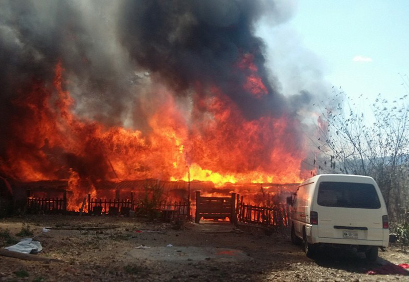 Incendio forestales, un riesgo  latente en la ciudad de Tlaxiaco, Oaxaca
