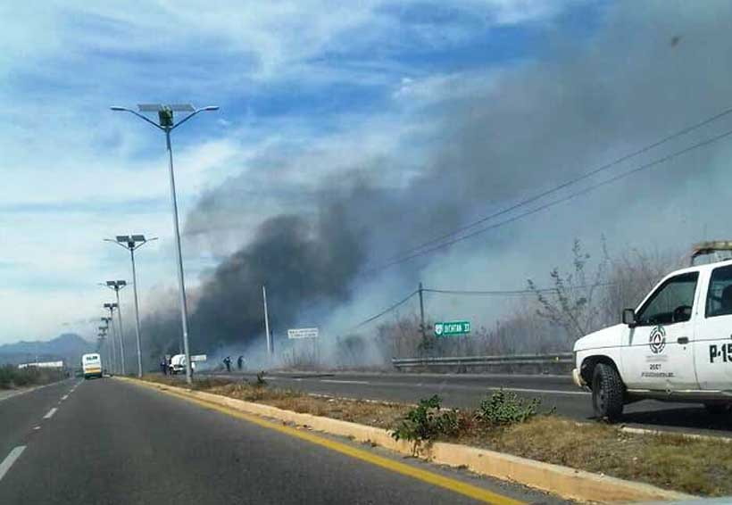 Incendios en Salina Cruz fuera de control  acechan a pobladores