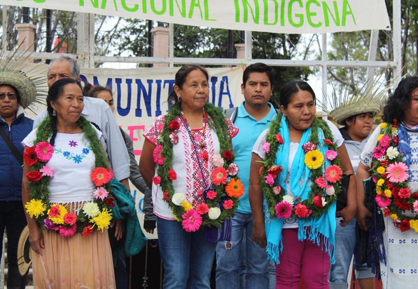 Llama Marichuy desde Oaxaca a la organización