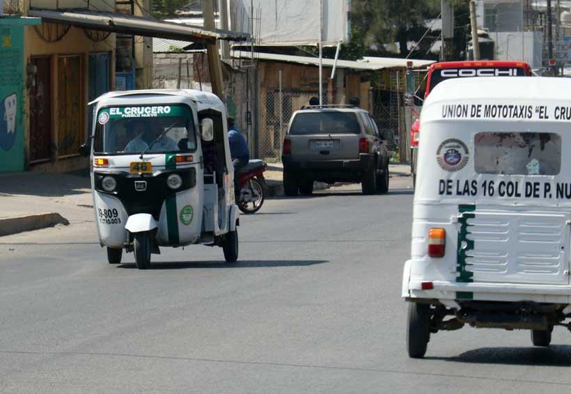 Admite Sevitra anarquía en mototaxis de Oaxaca | El Imparcial de Oaxaca