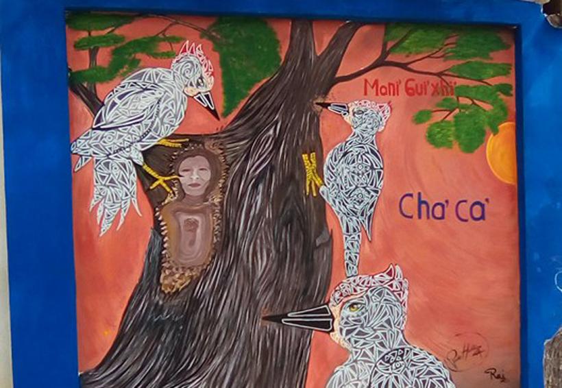 Mani' Gui'xhi', los protagonistas  de los muros