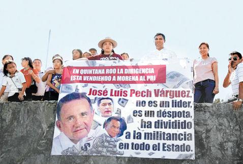 Desde limpia maya, hasta 'huevazos' en mitin de AMLO en Quintana Roo | El Imparcial de Oaxaca
