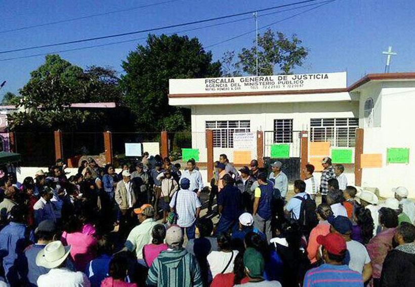 Piden acabar con  corrupción de  Vicefiscalía de  Matías Romero, Oaxaca   El Imparcial de Oaxaca