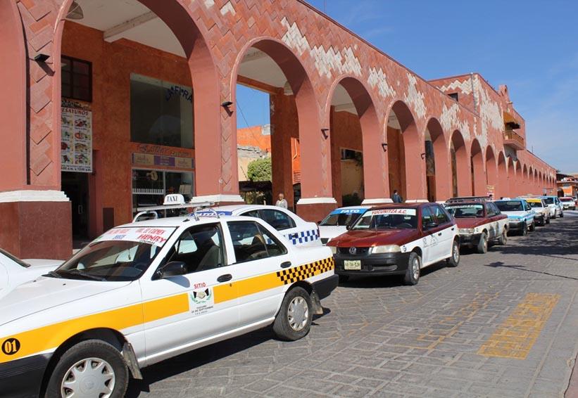 Protestan taxistas en  Huajuapan de León, Oaxaca | El Imparcial de Oaxaca
