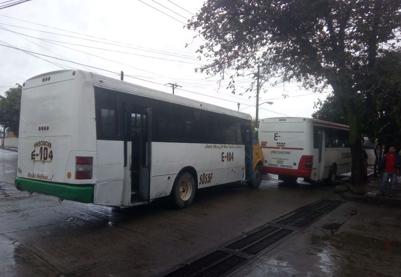 Quitan transportistas  apoyo a estudiantes de Tuxtepec, Oaxaca | El Imparcial de Oaxaca