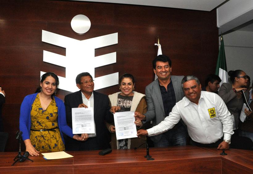 Registran coaliciones estatales ante el IEEPCO | El Imparcial de Oaxaca
