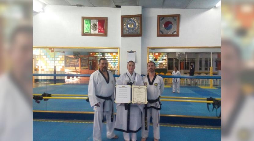 Iza Rodríguez obtiene el grado de Quinto Dan | El Imparcial de Oaxaca