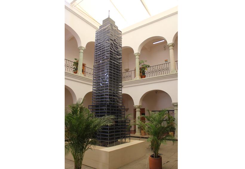Torre Latinoamericana es recreada en Oaxaca por estudiantes de arquitectura | El Imparcial de Oaxaca