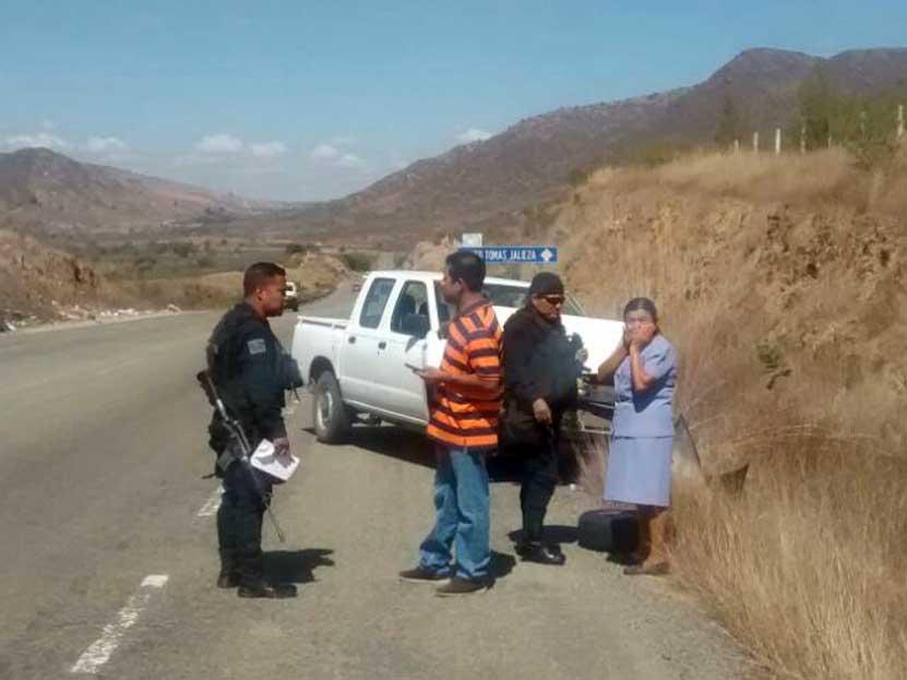 Encontronazo en el libramiento a Ocotlán, Oaxaca | El Imparcial de Oaxaca