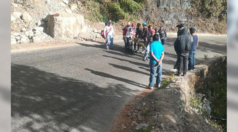 Cae regio en peñasco de San José del Pacífico | El Imparcial de Oaxaca